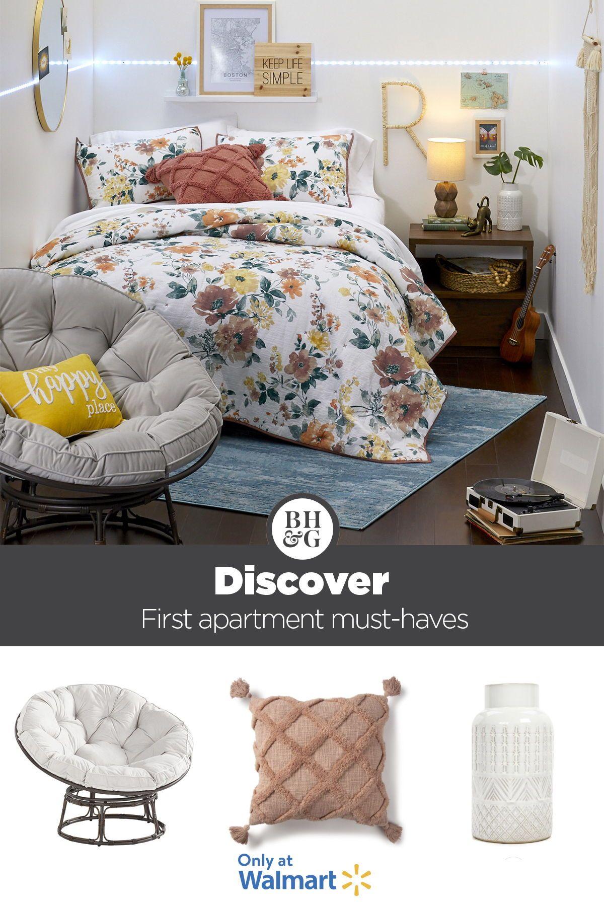 Better Homes & Gardens Papasan Chair with Fabric Cushion