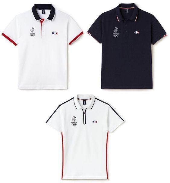 Les vêtements Lacoste de la France aux Jeux Olympiques - Gentleman Moderne