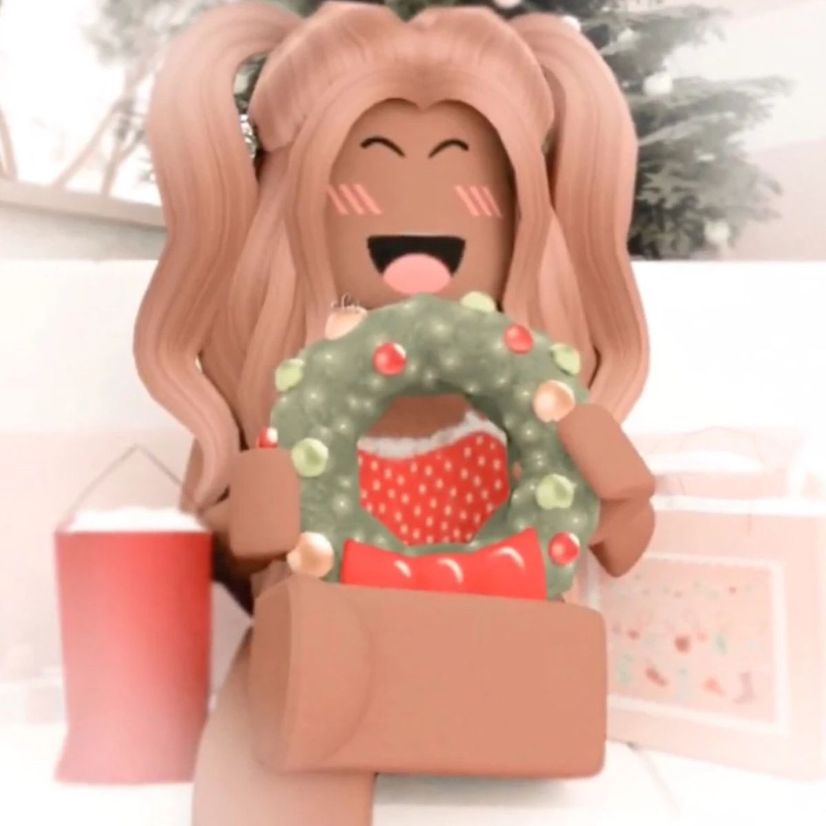 Christmas Gfx Roblox Animation Cute Tumblr Wallpaper Roblox Pictures