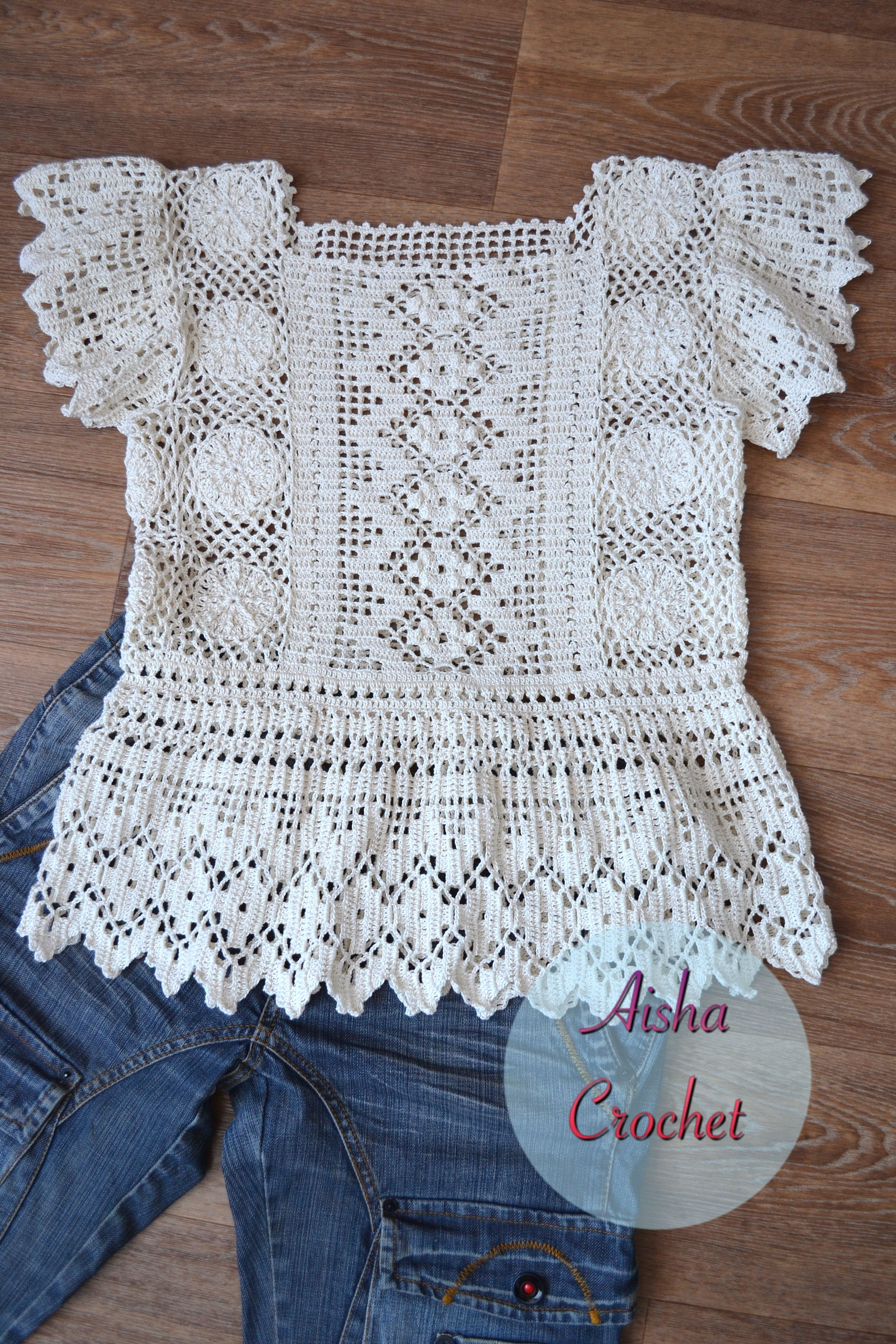 Bohemian crochet by Aisha Crochet