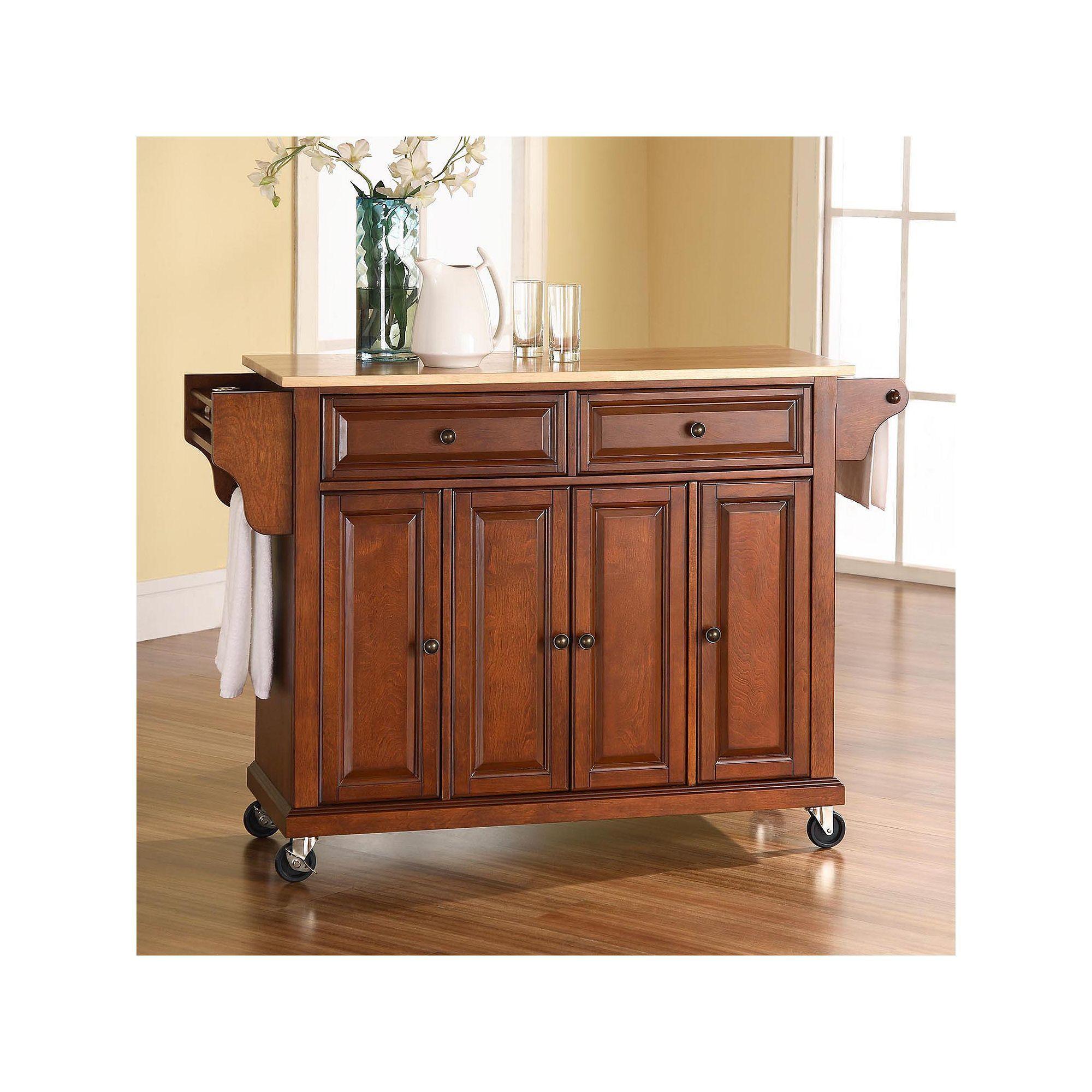 Crosley Furniture Kitchen Cart Black Crosley Furniture