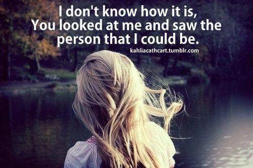 you knew me before i knew myself