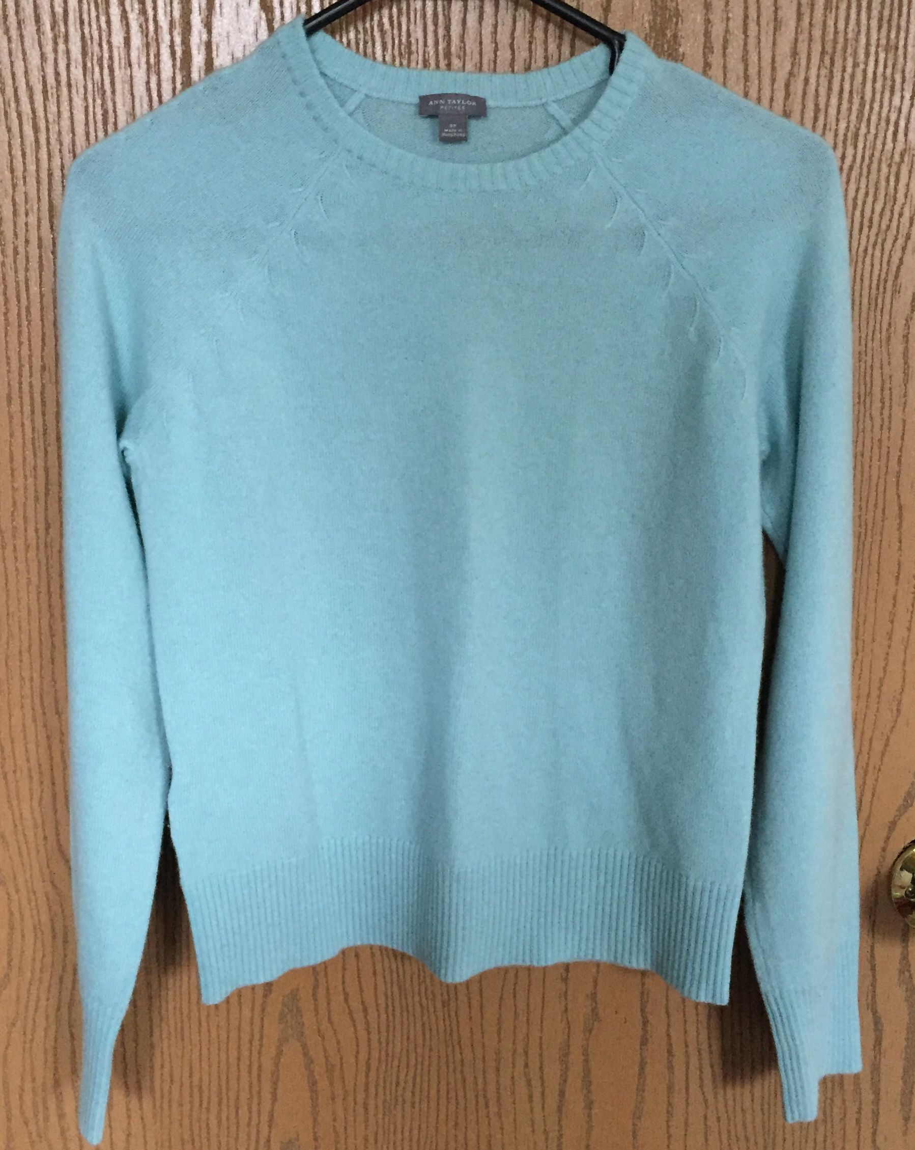 Check out this cute cashmere sweater by Ann Taylor *has been sold ...
