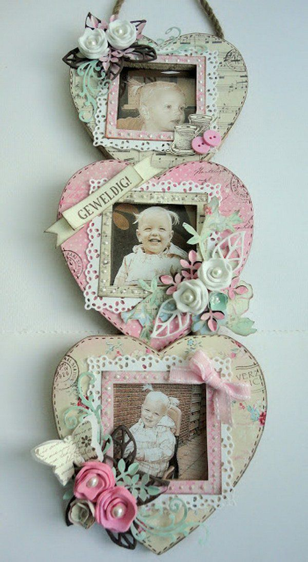 Shabby Chic Photo Display Craft Ideas Pinterest Manualidades - Manualidades-shabby-chic
