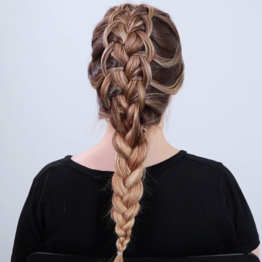 Photo of Looped French Braid