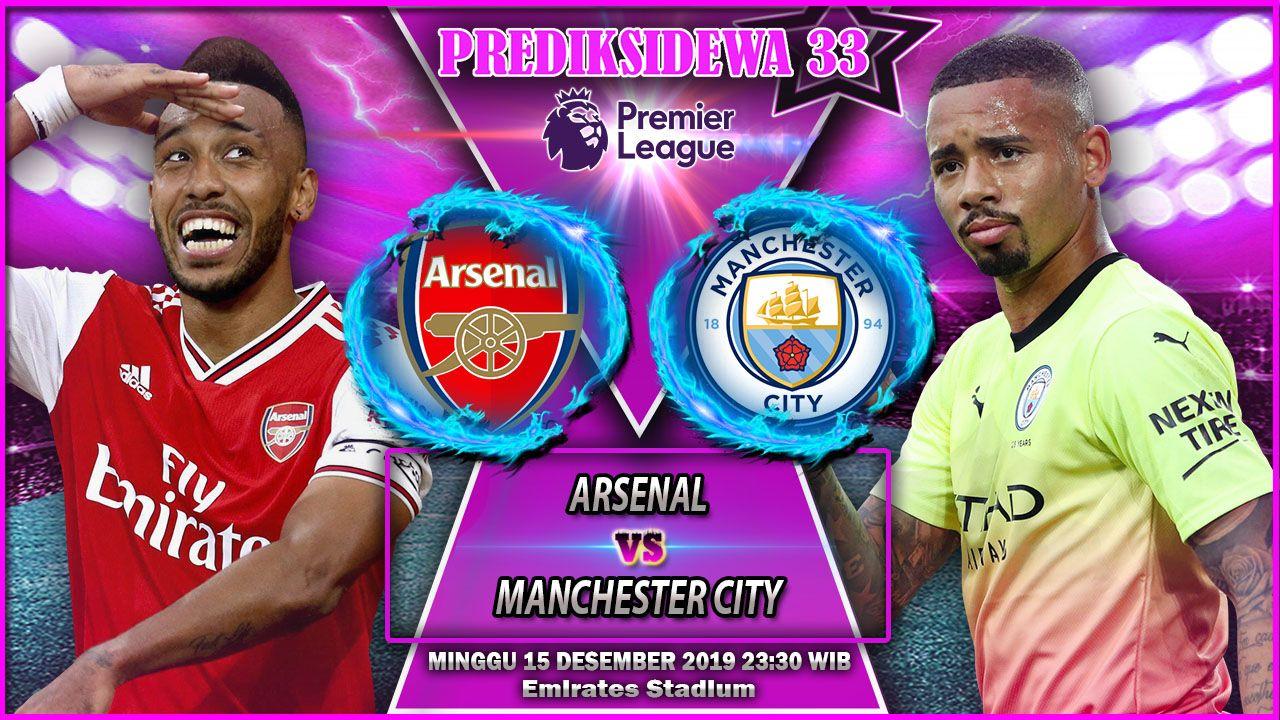 Prediksi Arsenal Vs Manchester City 15 Desember 2019 Manchester City Manchester Arsenal