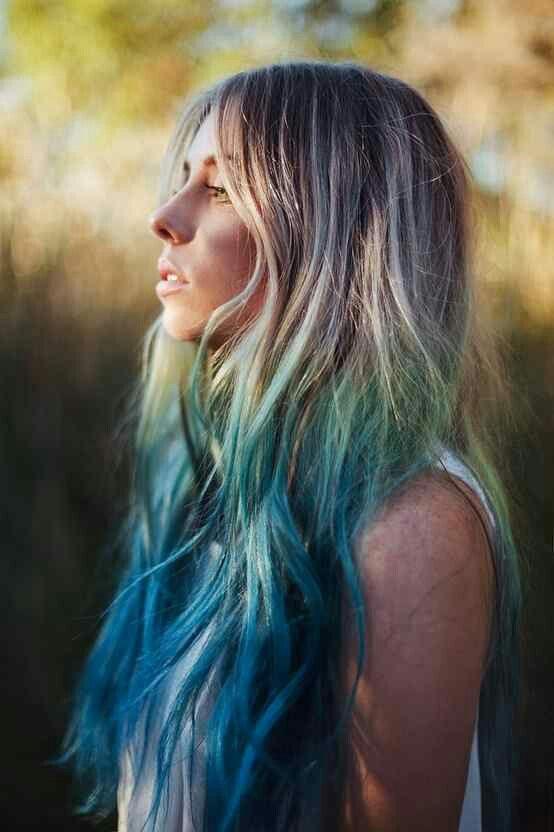 Turquesas pelo