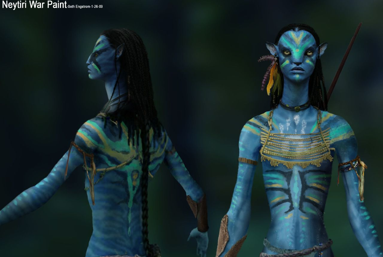Neytiri's war paint design. | Avatar | Pinterest | War ...