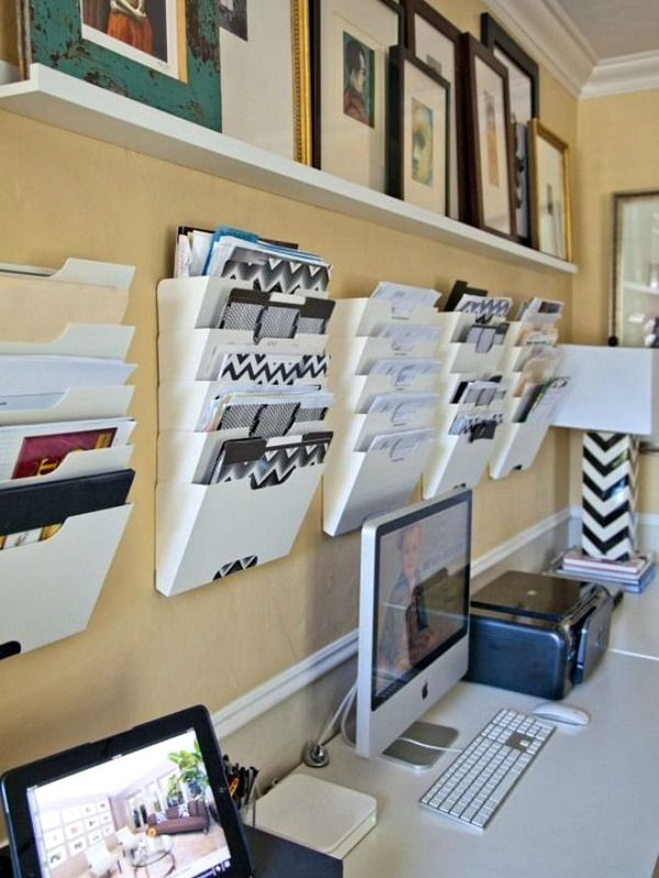 Home office organization tips home office decorating Home office organization ideas