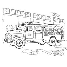 Top 25 Firefighter Coloring Pages Your Toddler Will Love