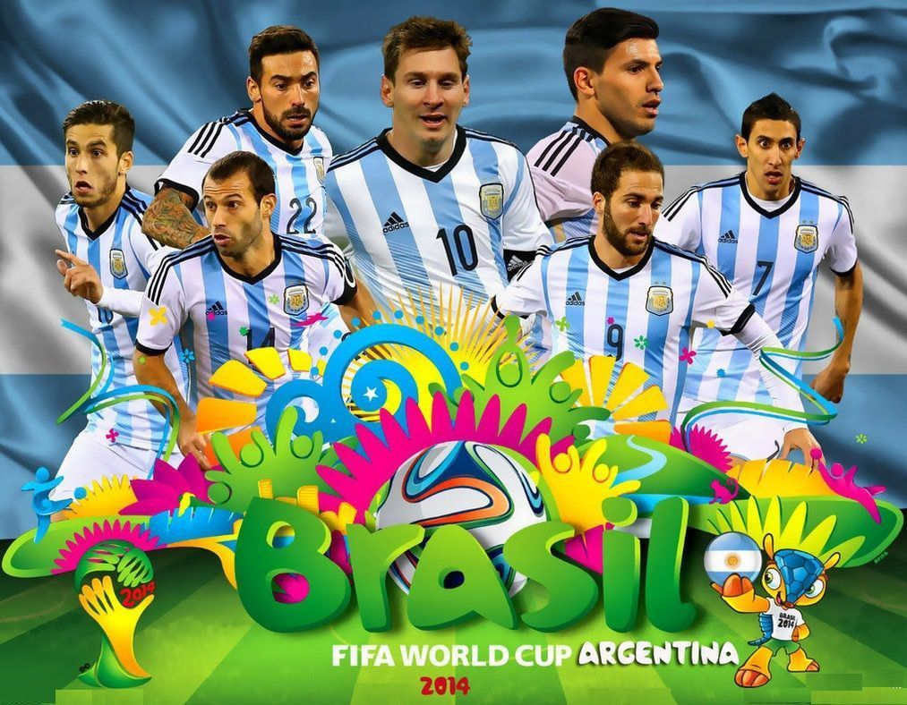Argentina National Football Team Hd Wallpapers Backgrounds 1920 1080 Argentina Wallpapers 45 Wallpapers Argentina World Cup World Cup 2014 Team Wallpaper