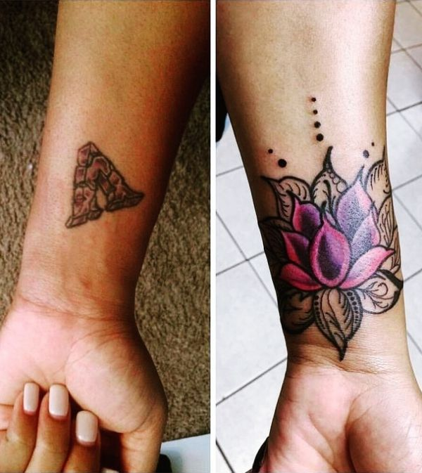 Image Associee Wrist Tattoo Cover Up Ankle Tattoo Cover Up Flower Cover Up Tattoos