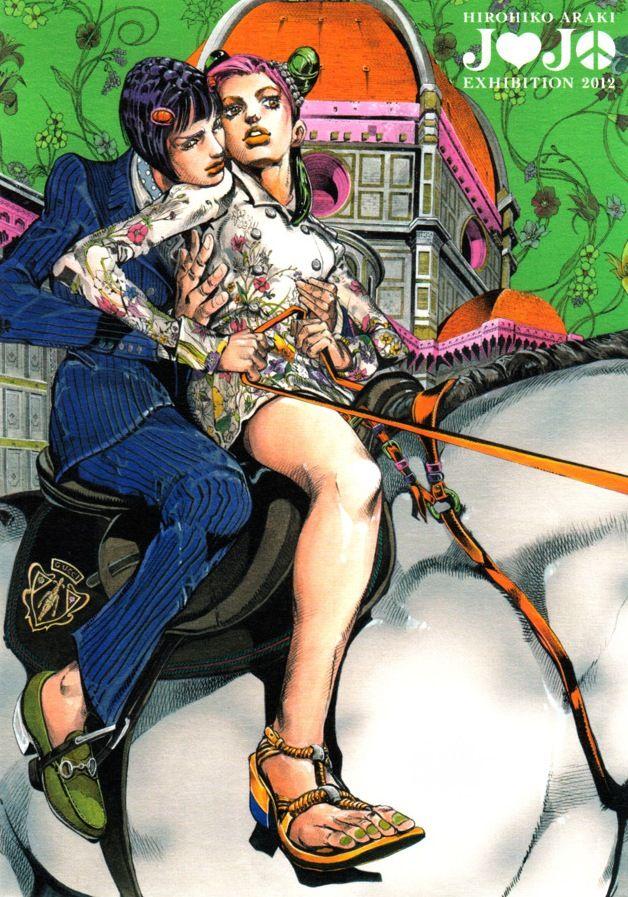 Hirohiko Araki JoJo Exhibition 2012 | Manga artist ...