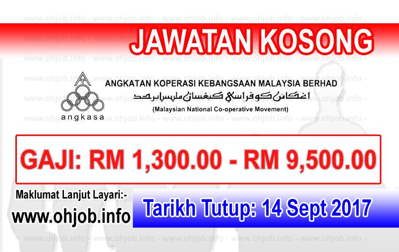 Jawatan Kosong Angkatan Koperasi Kebangsaan Malaysia Berhad Angkasa 14 September 2017 Boarding Pass