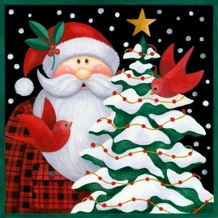 Pin by marcela cortes on Navidad Pinterest Santa, Christmas art