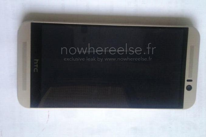 新一代旗艦可能外觀曝光,HTC One M9 可能與 M8 相差不大 Htc one, Htc one m9, Htc