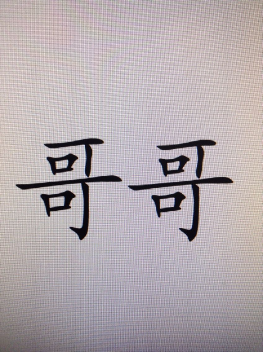 Chinese symbol for younger brother when my brother and i get big brother symbol in chinese biocorpaavc