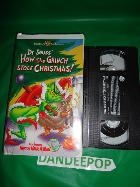 dr seuss how the grinch stole christmas animated movie vhs 2000 find me at www - How The Grinch Stole Christmas Vhs