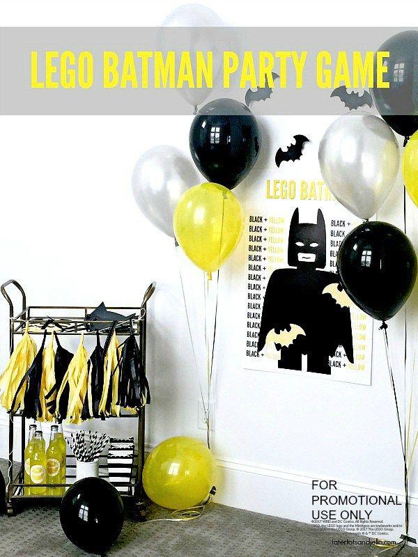 Lego Batman Party Game with free printables   Lego batman party ...