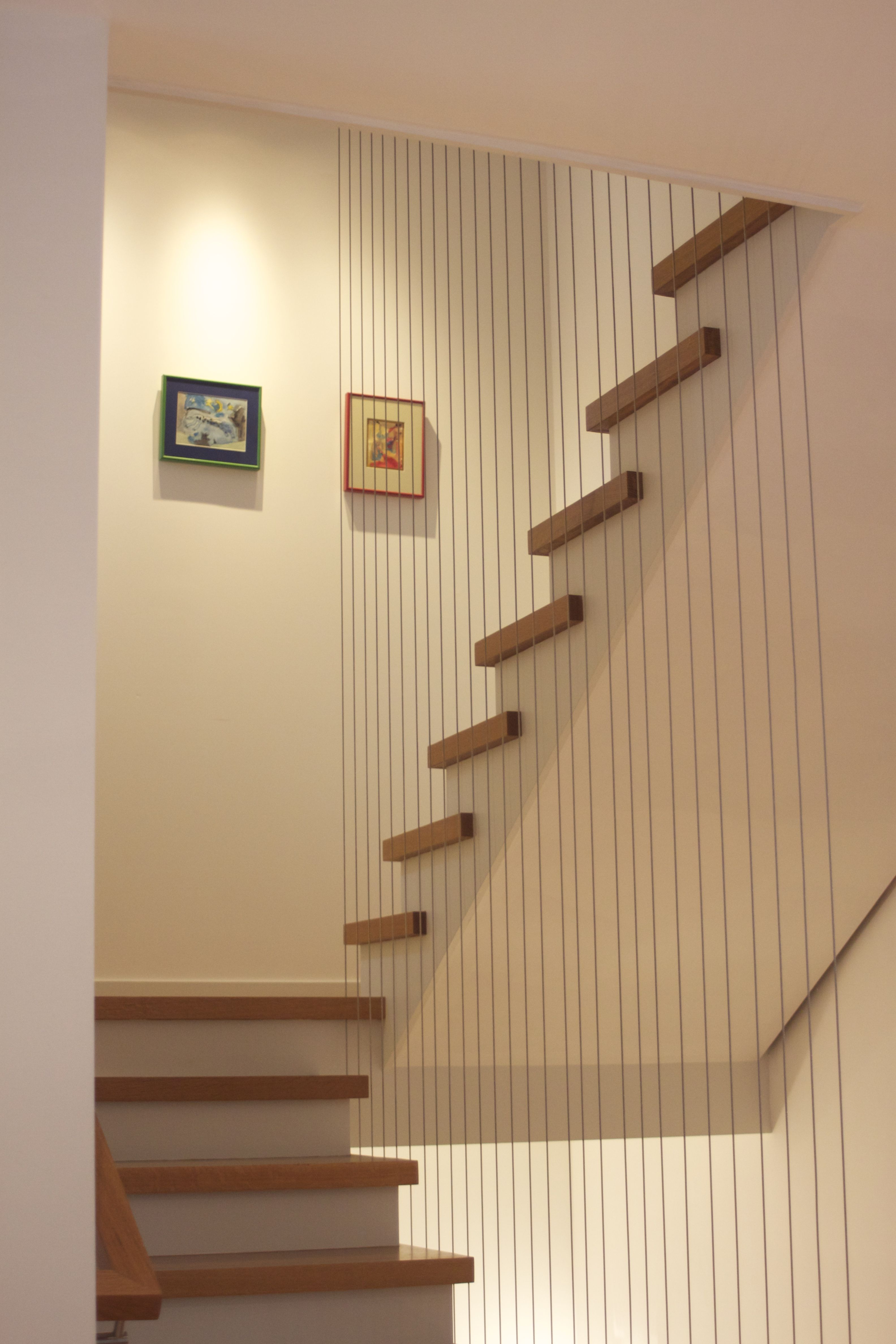 TOP OF VERTICAL CABLE RAIL AT CENTER OF STAIR - Google ...
