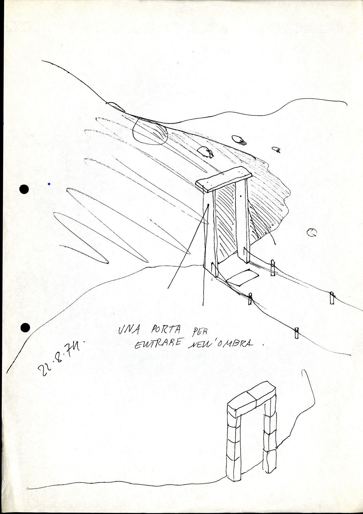 Design Methaphors, Ettore Sottsass, 1974, courtesy Collezione Privata / Ettore Sottsass / Dall'Austerità alla Partecipazione.
