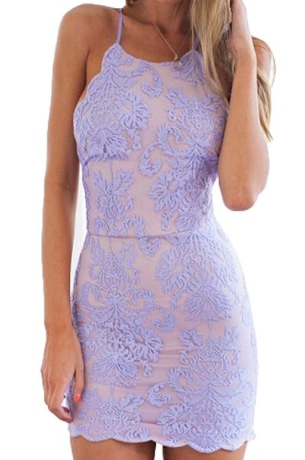3d1e68d8d8 Simple Lace Short Mermaid Homecoming Dresses