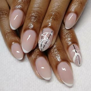 instagram in 2020  nail art almond shaped nails designs