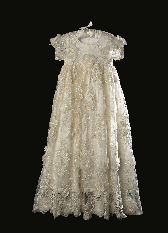 Caremour Christening Gown, Christening dress, Christening gown for ...