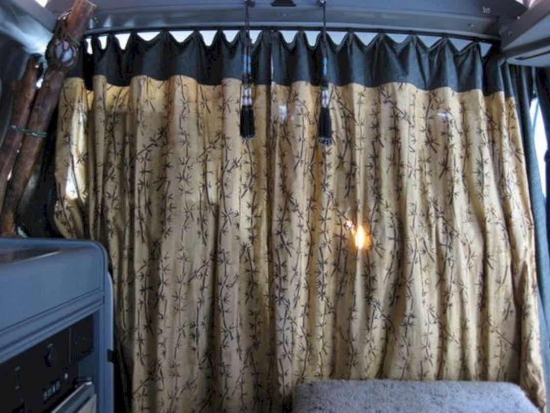 24 Fantastic Camper Van Design Ideas For Cozy Summer Holiday