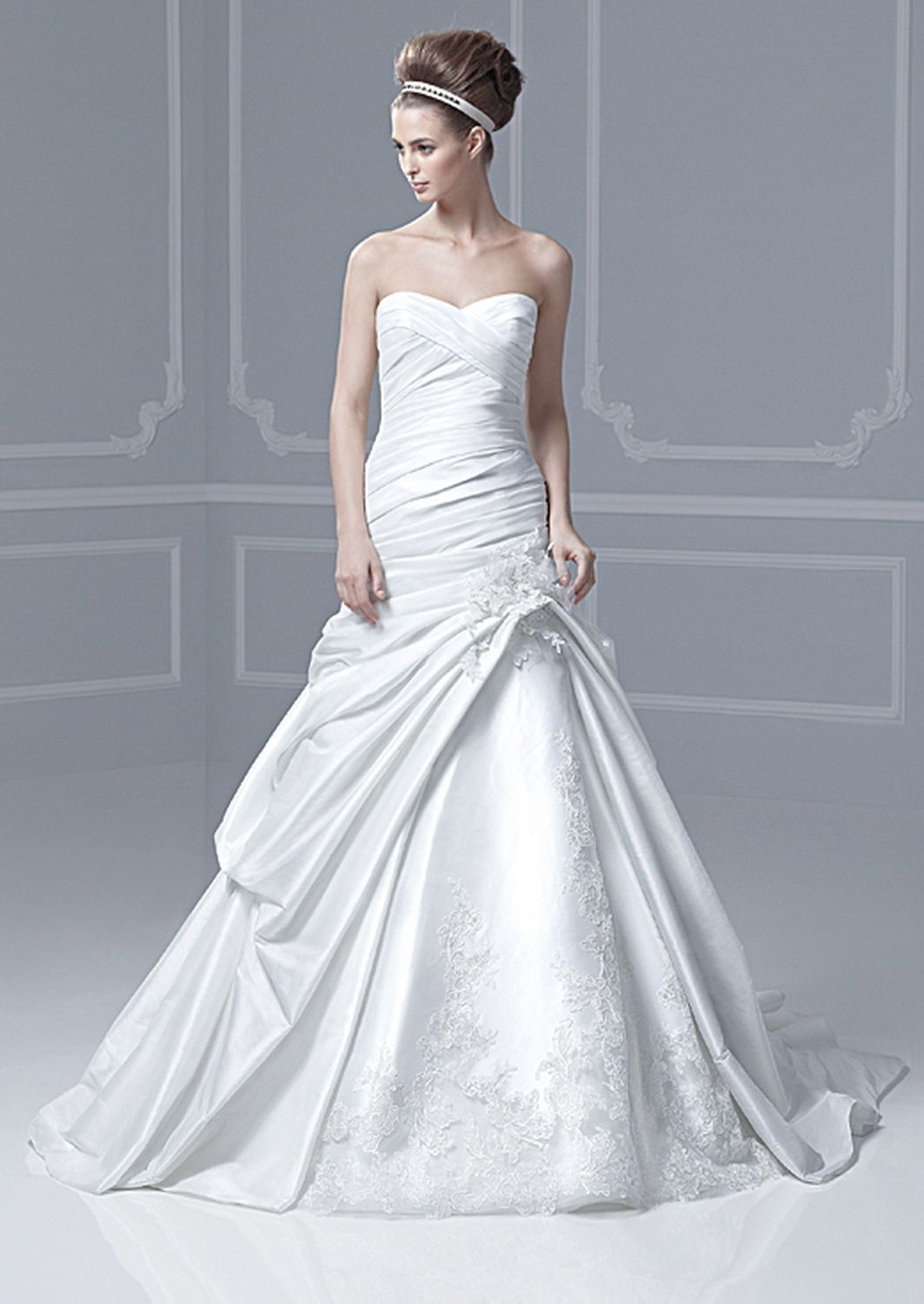 Blue by enzoani bridal gown style finland wedding pinterest