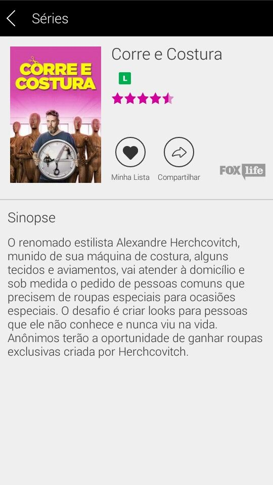 É amanhã 28/03 #AlexandreHerchcovitch