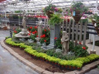 Outdoor Living Display Garden Center Displays Garden Center