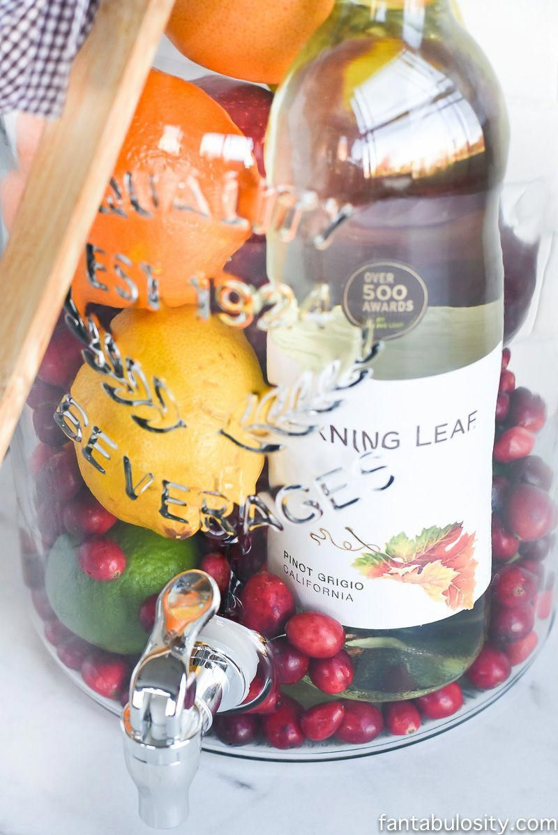 Diy gift idea sangria kit great for friends
