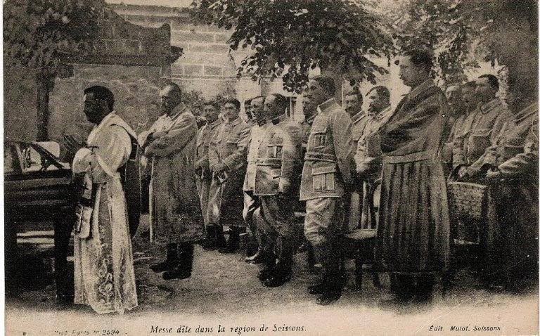 Mass for French Soldiers(WWI)