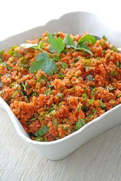 Photo of Kısır – Anatolian Bulgur Salad – According to feeling