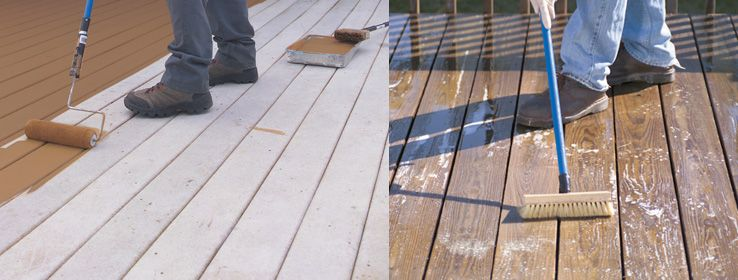 Applying Deck Stain Tips From Sherwin Williams Sherwin Williams Stain Colors Staining Deck Stain Projects