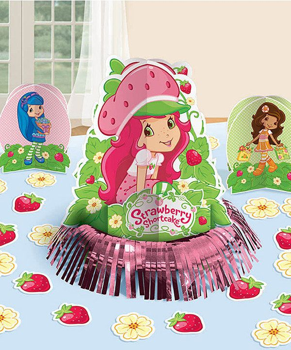 This Strawberry Shortcake Table Decoration Set by Amscan is perfect ...