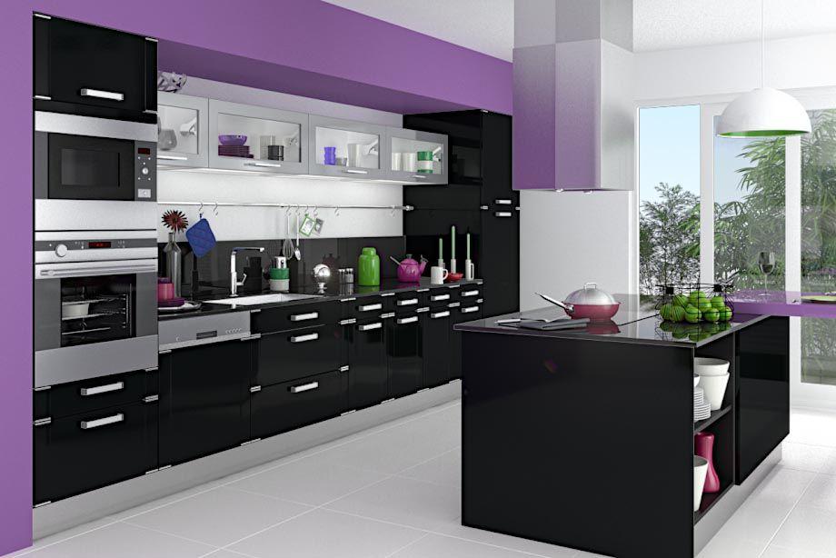 Cuisine Silver Meuble Et Moda Le De Cuisine Lapeyre Meuble Cuisine Cuisine Gris Cuisine Violet