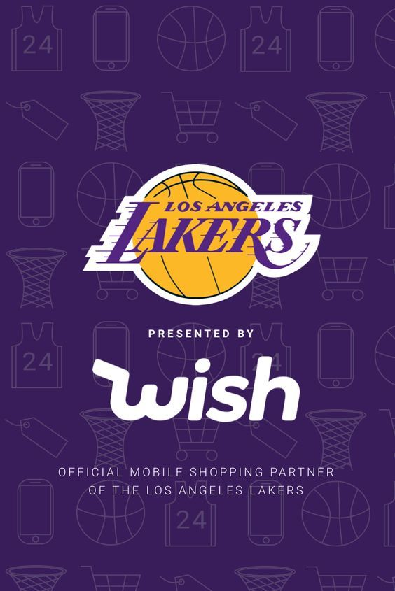 Wish is proud to be the official 2018 sponsor of the Los Angeles Lakers!  Celebrate by using code WISHxLAKERS for 20% off at checkout! 3dd7e0dd2700