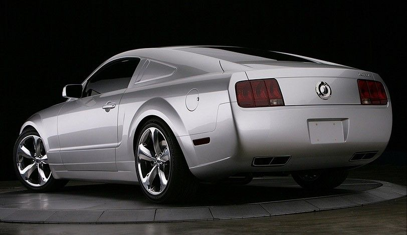 The Lee Iacocca Mustang To Commemorate The 45th Anniversary Of The