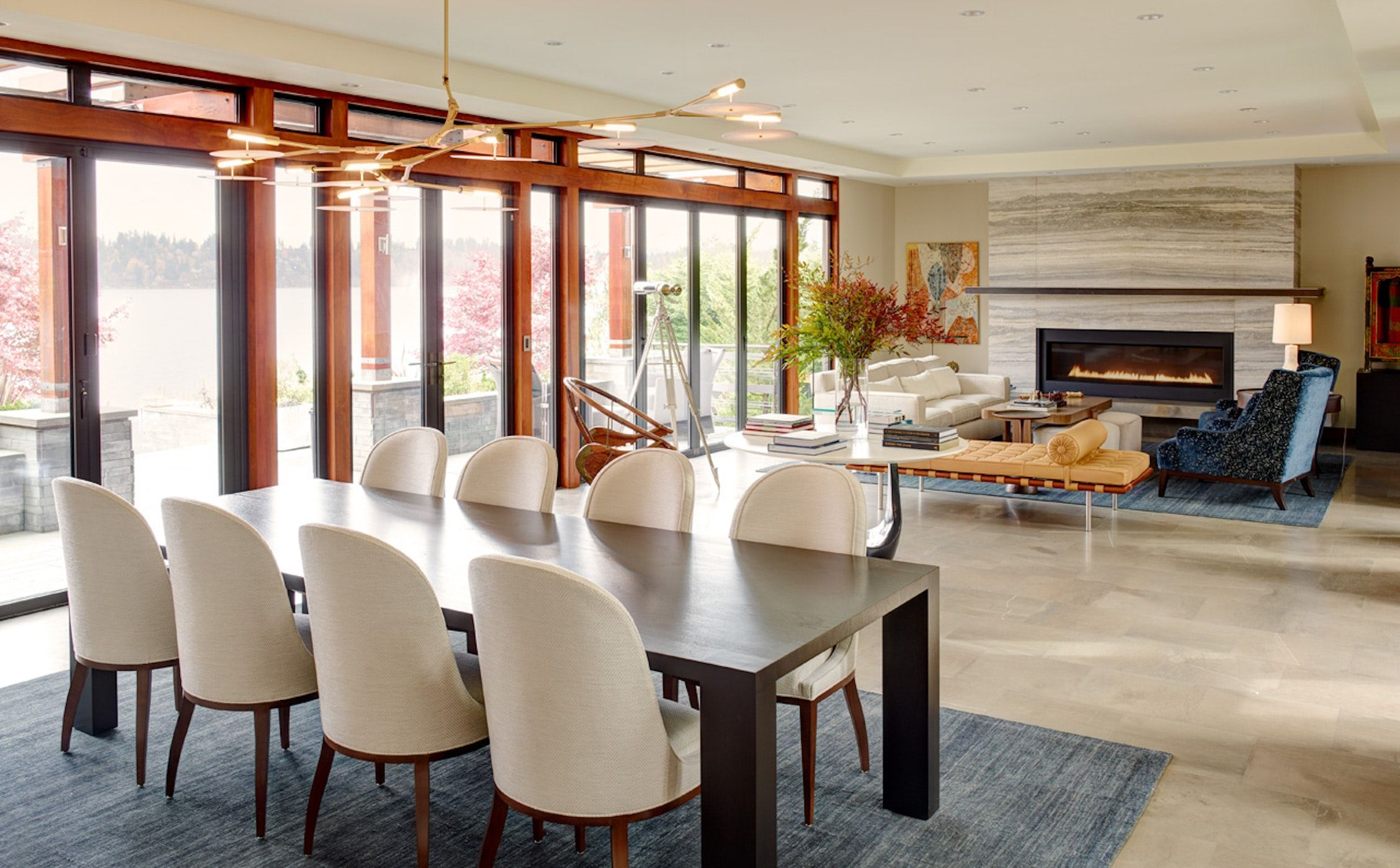 Contemporary Living Roomdining Room By Hyde Evans Design