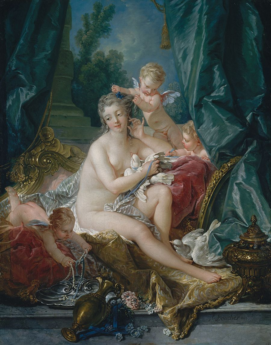 The Toilette of Venus (1751) by François Boucher