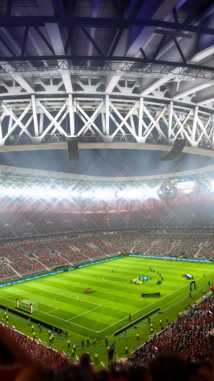 FIFA 18 Stadium Video Game 2017 720x1280 Wallpaper