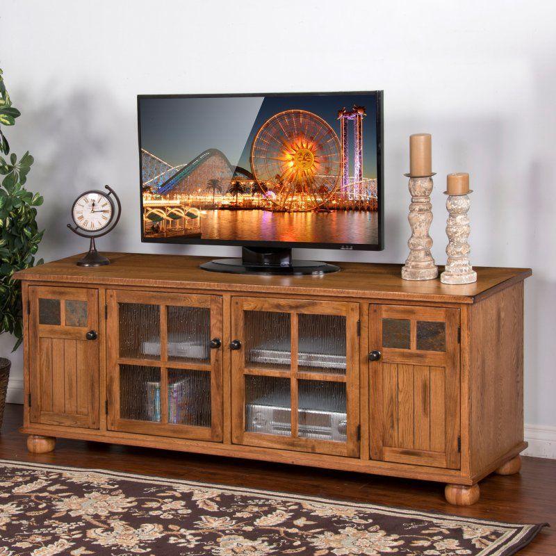 Sunny Designs Sedona TV Console - Rustic Oak - 275