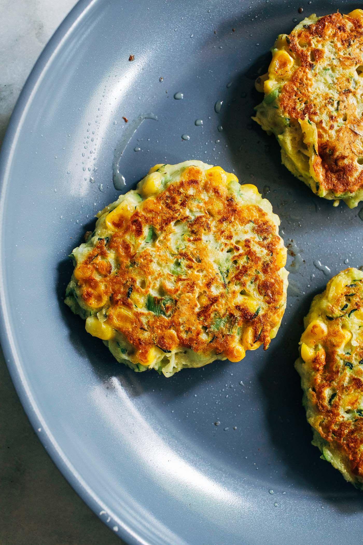 Healthy Zucchini Corn Fritters Making Thyme For Health Recipe Vegan Zucchini Fritters Corn Fritters Vegan Zucchini