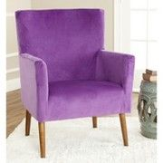 Safavieh Spetzia Arm Chair - Purple