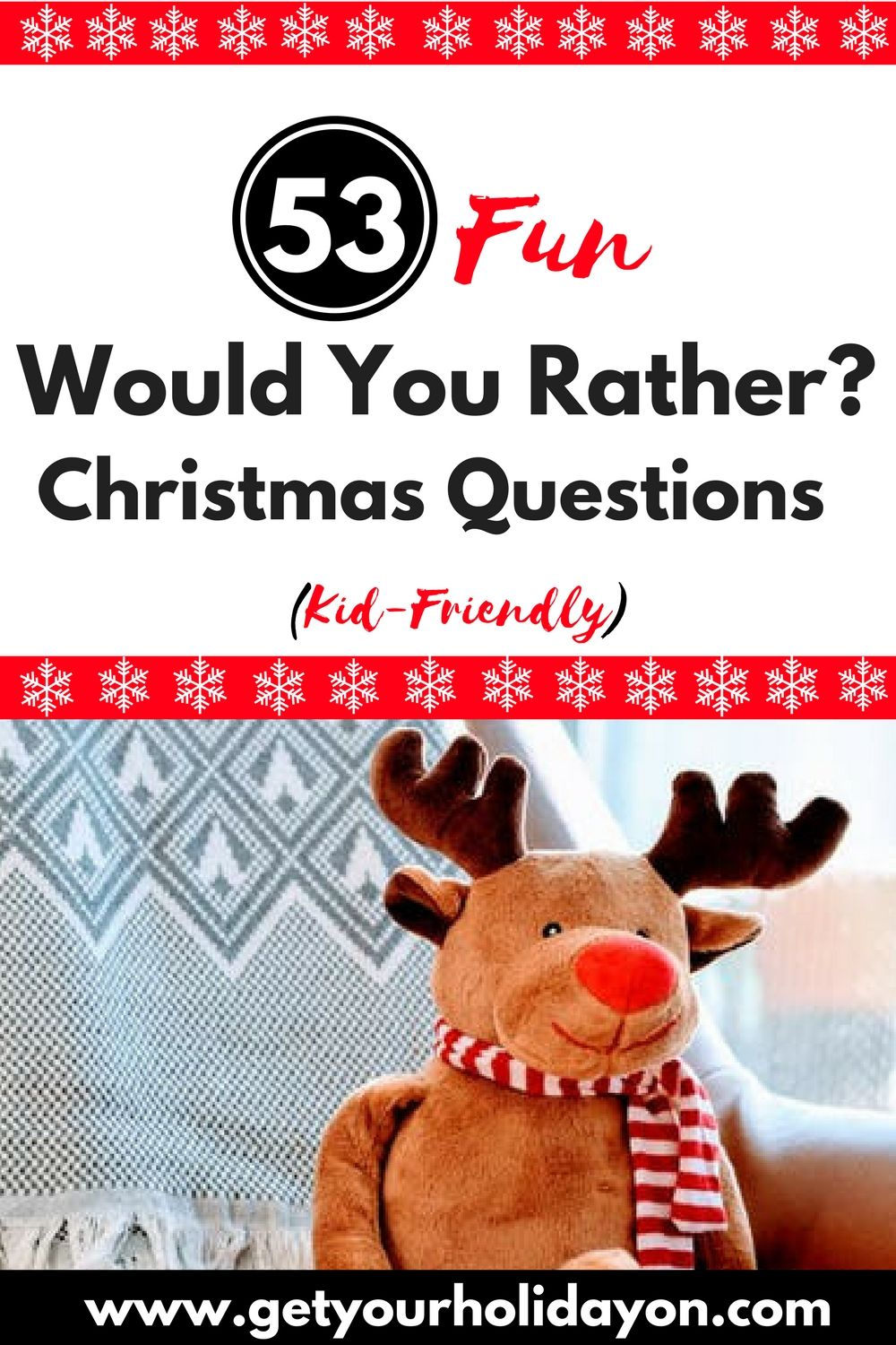 Would You Rather (Christmas Kid-Friendly Edition | Broadway ...