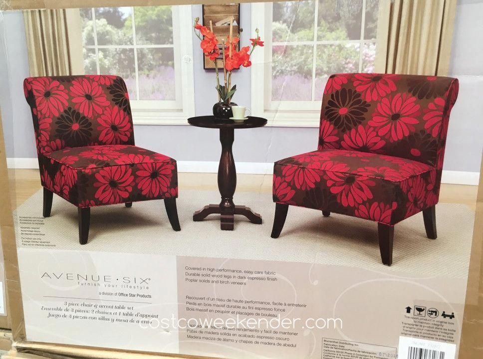 2 Accent Chairs And Table Set Chair King Backyard Store Best Cheap Modern Furniture Cheaptableandchairs