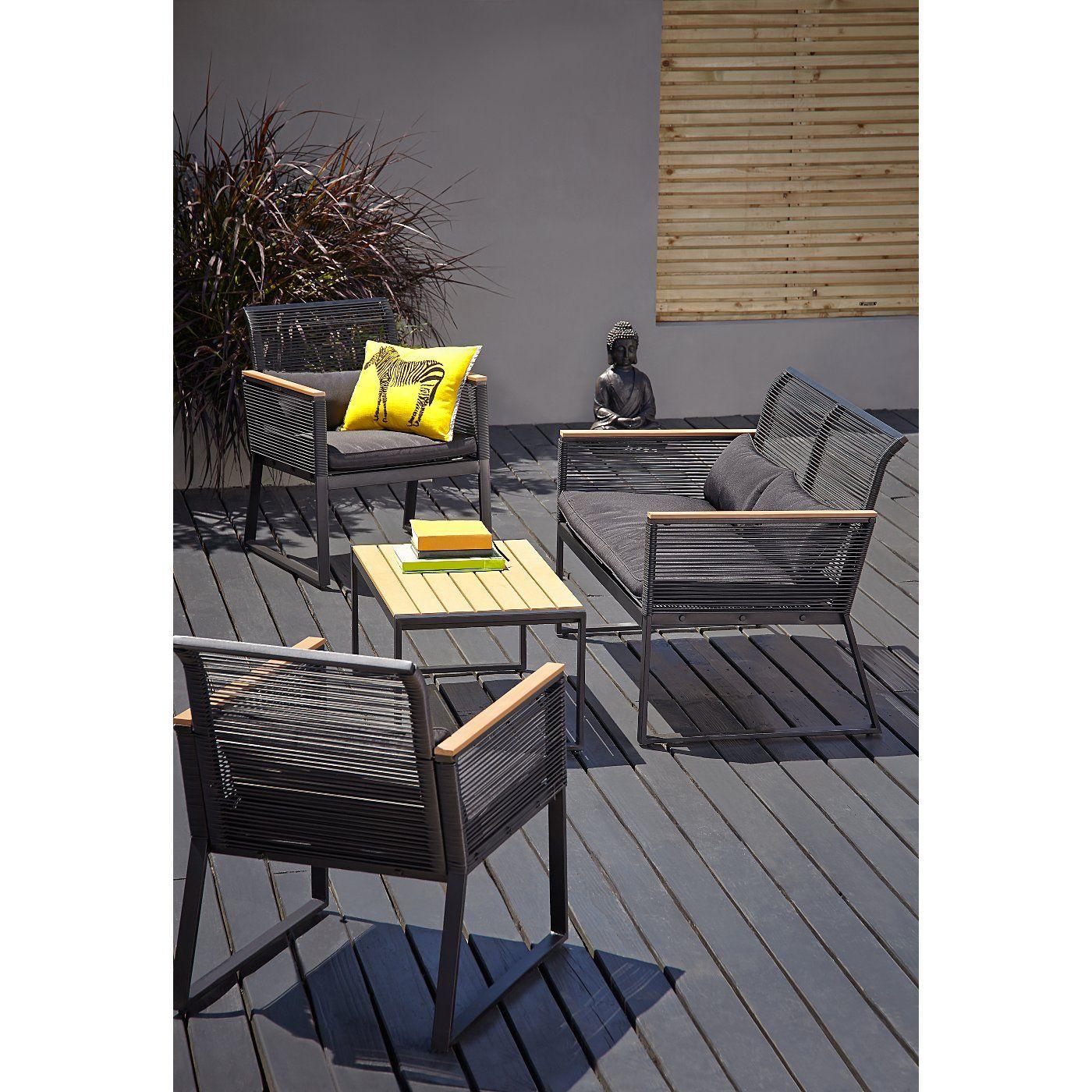 Buy Noir 8 Piece Garden Set - Get The Look from our Garden