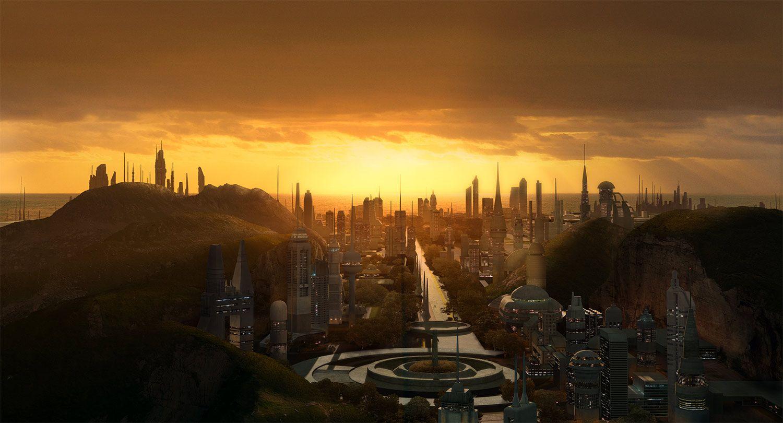 Matte from StarWars : Threads of Destiny film